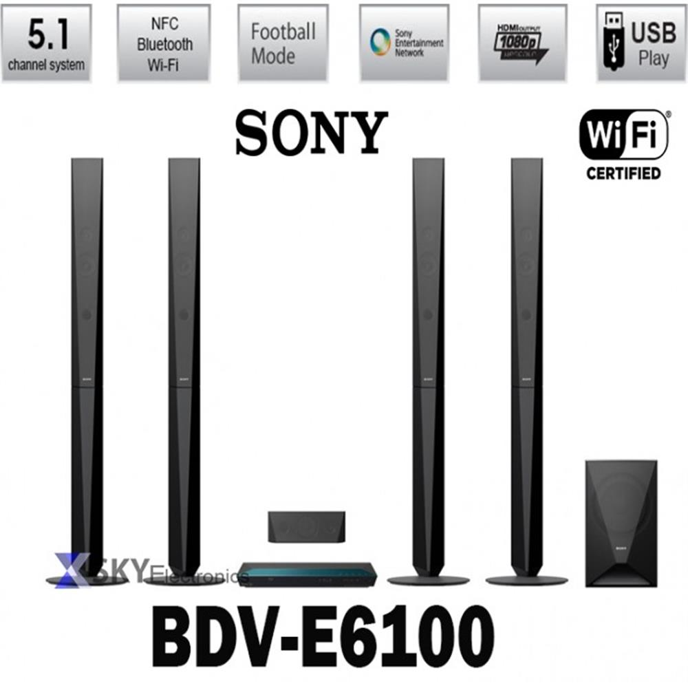 Sony BDV-E6100 3D Blu-Ray Player Home Theater System\'s details
